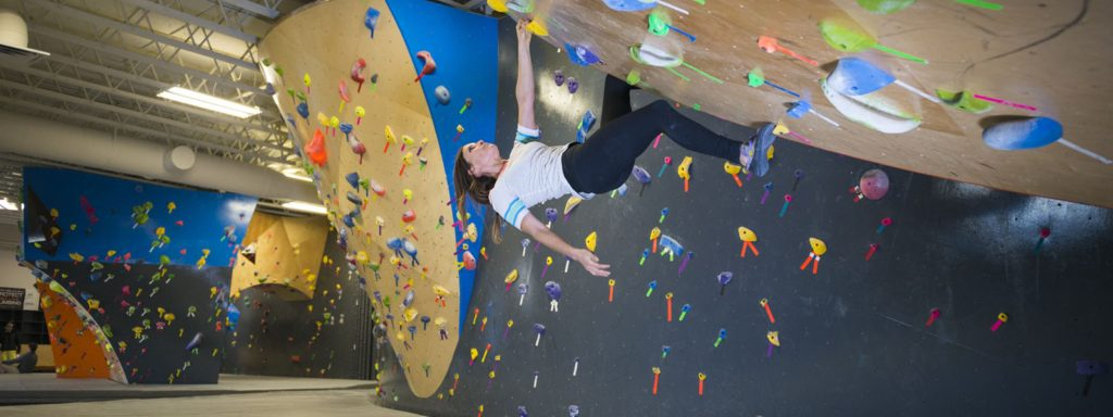 The Mine bouldering